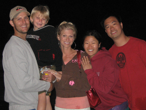 Derick, Luke, Bethany, Charlene, Brian